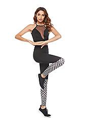 billige -Dame Sports Legging - Ternet Medium Talje