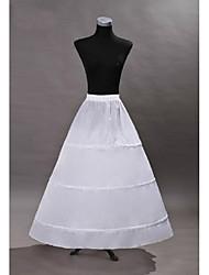 Недорогие -Принцесса Платья Нижняя юбка пачка 1950-е года Готика Средневековый Белый Нижняя юбка / Под юбкой / Кринолин