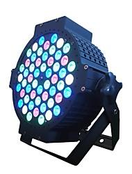 billige -scene belysning nye led54 rgbw farverige par lys fladt sort støbt aluminium bryllup præstation farvning lys bar di bar langsom shake farve lys