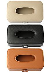 Недорогие -de ran fu коробка для бумажных полотенец для автомобиля бумажный мешок творческий многофункциональный кожаный стул затенения обратно автомобиль коробка для бумажных полотенец