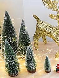 abordables -Décorations de vacances Nouvel An / Décorations de Noël Noël / Décorations de Noël Bande dessinée / Soirée / Décorative Vert 1pc