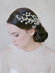 billige -Legering Hovedstykke med Blomst 1 stk Bryllup / Speciel Lejlighed Medaljon