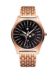 Недорогие -Муж. Нарядные часы Кварцевый Розовое золото Защита от влаги Фосфоресцирующий Аналоговый На каждый день Мода - Розовое золото / Белый Черный / Розовое золото