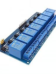 Недорогие -8-канальная плата расширения модуля реле 5v для arduino малины pi dsp avr pic arm