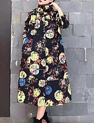 Недорогие -женщины выходят свободно сменное платье maxi шея экипажа