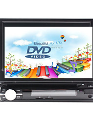abordables -7 pouce 1 Din Windows CE In-Dash DVD Player GPS / Ecran Tactile / Bluetooth Intégré pour Universel Soutien / Panneau Amovible / Support SD / USB / 800 x 480 / Allemand / Russe