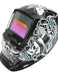 Недорогие -солнечная автоматическая фотоэлектрическая сварочная маска с пиратским рисунком