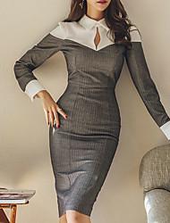 Недорогие -женская рубашка с длинным рукавом