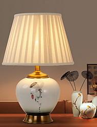 abordables -Traditionnel / Classique Design nouveau / Décorative Lampe de Table Pour Chambre à coucher / Bureau / Bureau de maison Céramique 220V