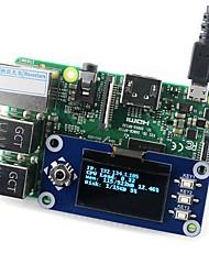Недорогие -wavehare 128x64 1.3inch oled дисплей шляпа для малины pi