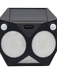 Недорогие -1шт 6 W Светодиодный уличный фонарь / Солнечный свет стены Водонепроницаемый / Работает от солнечной энергии / Инфракрасный датчик Белый 3.7 V Уличное освещение 20 Светодиодные бусины