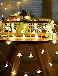 hesapli -6m Dizili Işıklar 40 LED'ler Sıcak Beyaz Dekorotif 220-240 V 1set