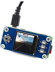 Недорогие -wavehare 240x240 1.3inch ips lcd дисплей шляпа для малины pi