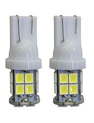 abordables -2pcs t10 2 w 40 lm 8000k a mené des ampoules d'intérieur de voiture de lumières pour l'automobile / motos