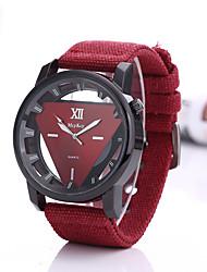 Недорогие -Муж. Спортивные часы Кварцевый Черный / Синий / Красный Повседневные часы Аналоговый Мода - Зеленый Синий Черный / Белый
