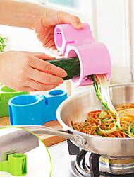Недорогие -1шт Кухонная утварь Инструменты Нержавеющая сталь + пластик Творческая кухня Гаджет Овощечистка & Терка Необычные гаджеты для кухни