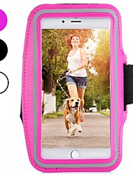 Недорогие -Кейс для Назначение Apple iPhone XS / iPhone XR / iPhone XS Max Спортивныеповязки / Защита от удара / Защита от пыли С ремешком на руку Однотонный Мягкий Углеродное волокно