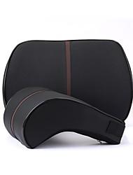 Недорогие -Подушечки под спину в авто Подушки для талии Черный / Бежевый / Кофейный Искусственная кожа Общий Назначение GM Все года