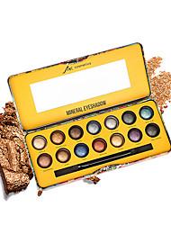 billiga -2 färger Ögonskuggor Öga varaktig Vattentät Vardagsmakeup / Festmakeup Smink Kosmetisk