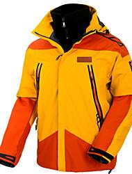 Недорогие -Муж. Лыжная куртка Водонепроницаемость Сохраняет тепло С защитой от ветра Катание на лыжах Отдых и Туризм Сноубординг 100% полиэстер Зимняя куртка Одежда для катания на лыжах / Зима