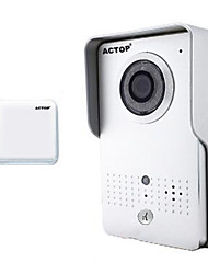 Недорогие -actop смарт WiFi безопасности дома видео дверной звонок Интерком Функция сигнала тревоги Suppot ИСН и Andriod wifi602