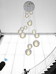 Недорогие -UMEI™ Кристаллы / Шары Люстры и лампы Рассеянное освещение Электропокрытие Металл Хрусталь, Творчество, Регулируется 90-240 Вольт Теплый белый / Белый