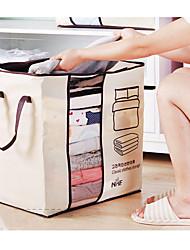 baratos -Tecido Retângular Adorável Casa Organização, 1pç Sacos de Armazenamento