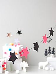 halpa -Joulukoristeet Loma Muovi Neliö Party joulukoristeita