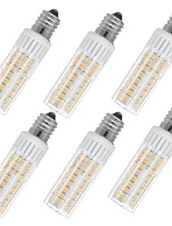 Недорогие -6шт 7.5 W 937 lm E14 LED лампы типа Корн T 100 Светодиодные бусины SMD 2835 Тёплый белый / Холодный белый 85-265 V