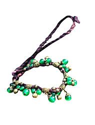 Недорогие -этническая / винтажная / простая драгоценность&хрустальное ожерелье из оникса