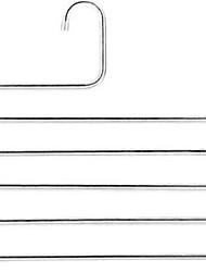 Недорогие -Нержавеющая сталь Многофункциональный / Многослойный / сгущение Брюки / Одежда / пояс Вешалка, 2pcs