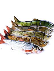 Недорогие -1 pcs Рыболовная приманка Жесткая наживка Пластик Углеродистая сталь Съемный Износостойкий Регулируется Тонущие Морское рыболовство Ловля на приманку Спиннинг / Ловля карпа / Ловля мелкой рыбы