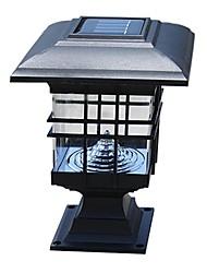 Недорогие -солнечная панель лампа солнечная лампа столбец фары забор лампы настенный светильник фары водить солнечный свет наружные садовые фонари