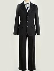 Недорогие -Вдохновлен Косплей Косплей Аниме Косплэй костюмы Японский Косплей Костюмы Города / Классика / Современный стиль Пальто / Блузка / Кофты Назначение Муж. / Жен.