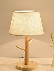 hesapli -Modern Çağdaş Yeni Dizayn / Dekorotif Masa Lambaları Yatakodası Uyumluluk 220-240V Ahşap / Bambu