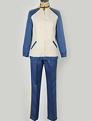 Недорогие -Вдохновлен Одиннадцать молний студент / Школьная форма Аниме Косплэй костюмы Японский Школьная форма Простой / Города Пальто / Кофты / Брюки Назначение Муж. / Жен.
