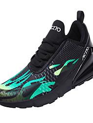 hesapli -Erkek Ayakkabı Örümcek Ağı / PU Kış Sportif Atletik Ayakkabılar Koşu Atletik için Siyah / Beyaz / Siyah / Kırmızı / Siyah / Yeşil / Zıt Renkli