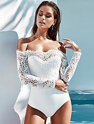 billige -Kvinders slanke kropsstykke - geometrisk stropløs