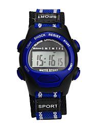 Недорогие -Дамы Спортивные часы электронные часы Цифровой Фиолетовый Защита от влаги Цифровой Кулоны Мода - Синий Розовый Серый Один год Срок службы батареи / Tianqiu 377