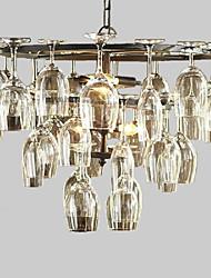 Недорогие -4-Light Подвесные лампы Рассеянное освещение Окрашенные отделки Металл Мини 110-120Вольт / 220-240Вольт Лампочки не включены / E12 / E14