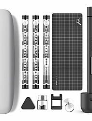 billige -wowstick 1f pro mini mini elektrisk skruetrækker genopladeligt ledningsfri skruetrækker kit med ledet litiumbatteri