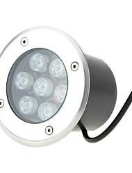 Недорогие -hkv® водонепроницаемый 7w вел подземный свет наземный сад путь торшер напольный подземный подземный фонарь лампа пейзаж свет