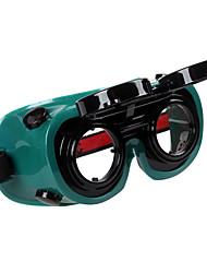 Недорогие -защитные очки для сварочных материалов пластмассовые пыленепроницаемые, светостойкие, противоударные, устойчивые к царапинам