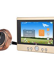 Недорогие -MOUNTAINONE SY501 720P WiFi Peephole Door Viewer Проводное Снято Запись 5 дюймов Гарнитура Телефон 480*854Pixel Один к одному видео