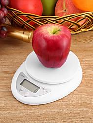 Недорогие -0-5KG ЖК дисплей Электронные кухонные весы Семейная жизнь Кухня ежедневно