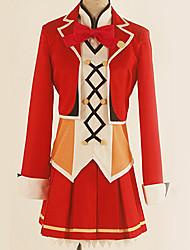 Недорогие -Вдохновлен Love Live Косплей Аниме Косплэй костюмы Японский Косплей Костюмы Английский Пальто / Блузка / Кофты Назначение Муж. / Жен.