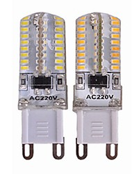 Недорогие -SENCART 4шт 3.5 W 450 lm G9 Двухштырьковые LED лампы T 64 Светодиодные бусины SMD 3014 Новый дизайн / Декоративная Тёплый белый / Белый 110-240 V