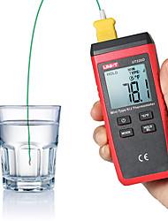 Недорогие -Цифровой термометр uni-t ut320d 2-канальный термопарный прибор с термопарой типа K / J
