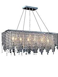 billiga -6-Light Taklampa Glödande Krom Kristall Kristall 110-120V / 220-240V Glödlampa inte inkluderad / E12 / E14