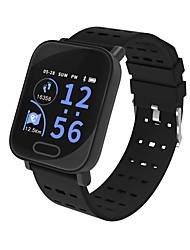 baratos -Kimlink L3 Relógio inteligente Android iOS Bluetooth Monitor de Batimento Cardíaco Medição de Pressão Sanguínea Tela de toque Calorias Queimadas Podômetro Aviso de Chamada Monitor de Sono Lembrete